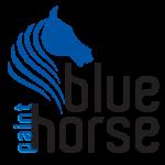 blue horse logo